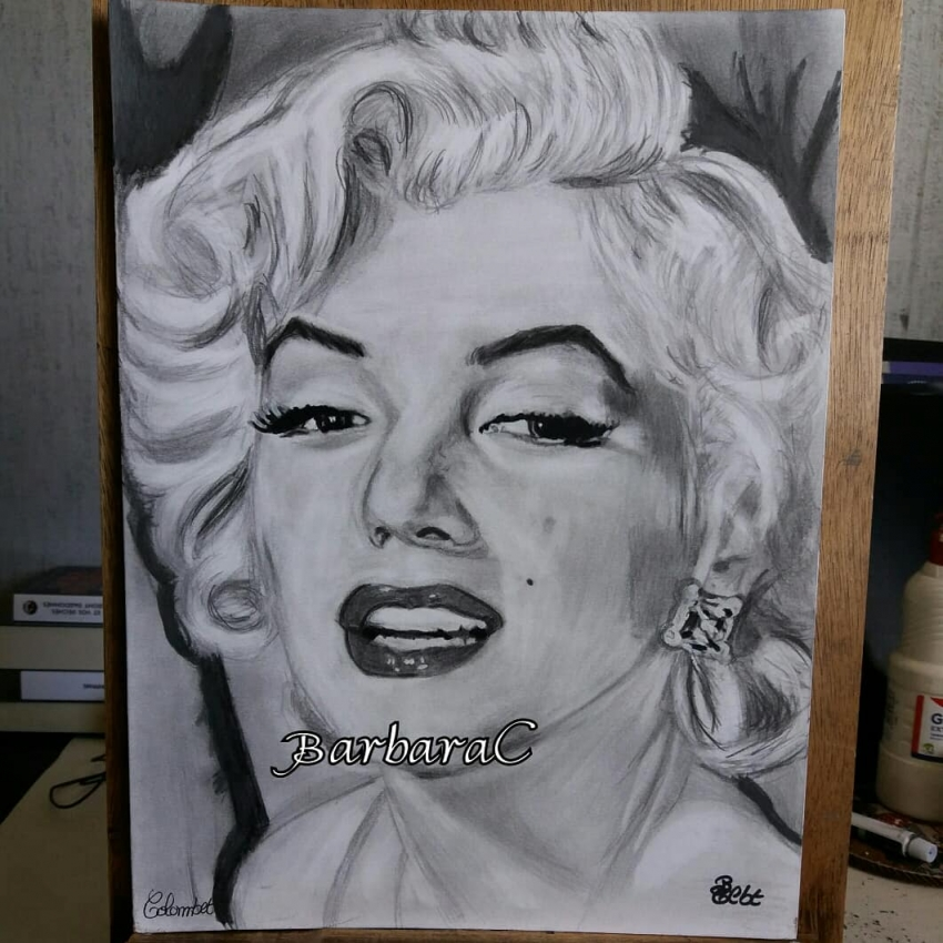 Marilyn Monroe by barbaras